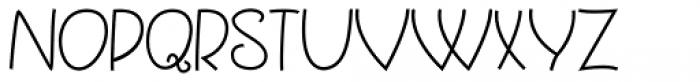 Quincey Regular Font UPPERCASE