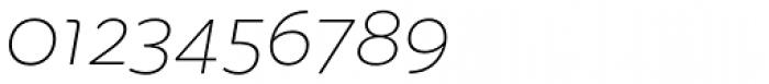 Quinoa Italic Font OTHER CHARS