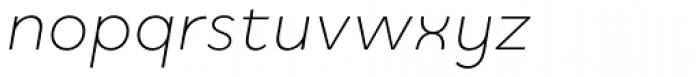 Quinoa Italic Font LOWERCASE