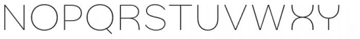 Quinoa Light Font UPPERCASE