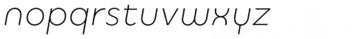 Quinoa Round Italic Font LOWERCASE