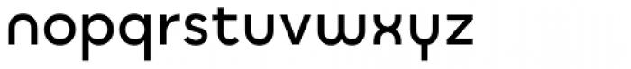 Quinoa Round Semibold Font LOWERCASE