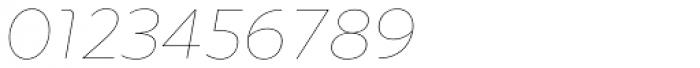 Quinoa Round Thin Italic Font OTHER CHARS
