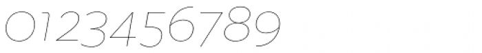 Quinoa Thin Italic Font OTHER CHARS