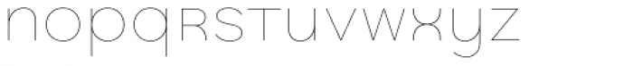 Quinoa Unicase Thin Font LOWERCASE