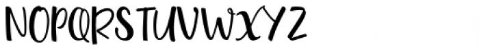 Quinton Script Alternates Font UPPERCASE