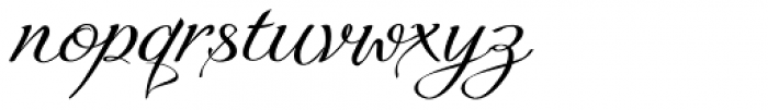 Quirina Normal Font LOWERCASE
