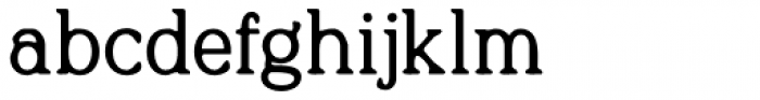 Quirkily Bold Font LOWERCASE