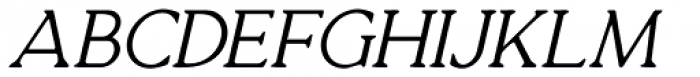 Quirkily Italic Font UPPERCASE