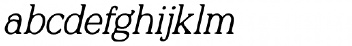 Quirkily Italic Font LOWERCASE