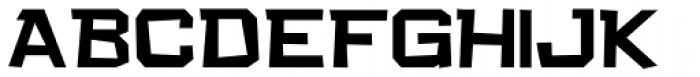 Quirkley JNL Font UPPERCASE