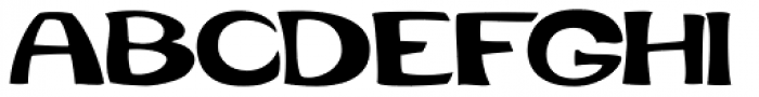 Quirkophonic Font UPPERCASE