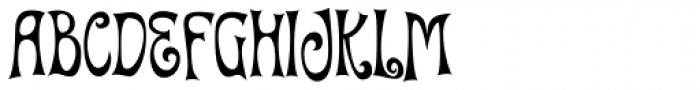 Quirky Kurlz Font UPPERCASE