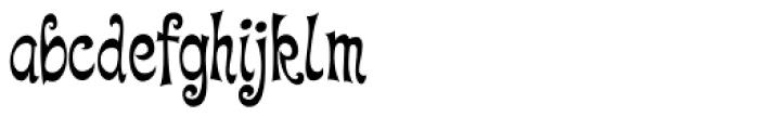 Quirky Kurlz Font LOWERCASE