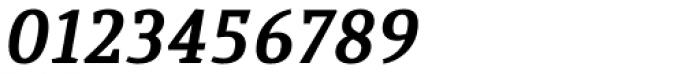 Quiroga Serif Pro Bold Italic Font OTHER CHARS