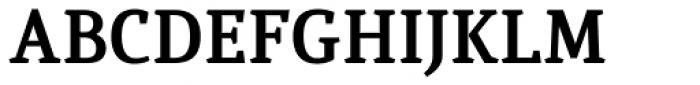 Quiroga Serif Pro Bold Font UPPERCASE