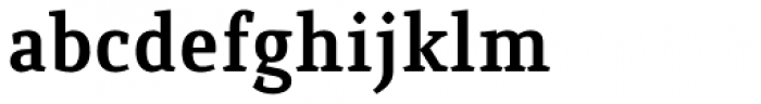 Quiroga Serif Pro Bold Font LOWERCASE