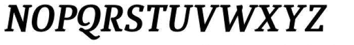Quiroga Serif Std Bold Italic Font UPPERCASE