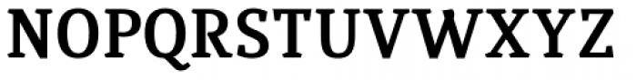 Quiroga Serif Std Bold Font UPPERCASE