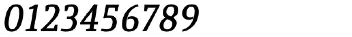 Quiroga Serif Std DemiBold Italic Font OTHER CHARS