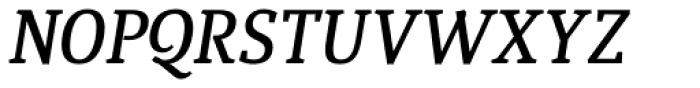 Quiroga Serif Std DemiBold Italic Font UPPERCASE