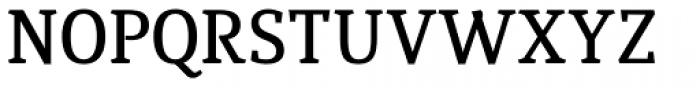 Quiroga Serif Std DemiBold Font UPPERCASE