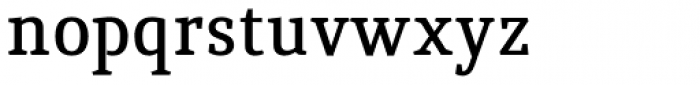 Quiroga Serif Std DemiBold Font LOWERCASE