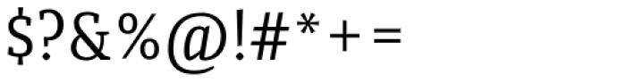 Quiroga Serif Std Font OTHER CHARS