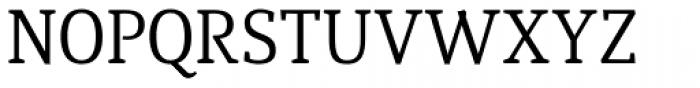 Quiroga Serif Std Font UPPERCASE