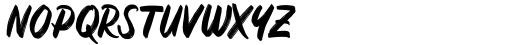 Quirthy Regular Font UPPERCASE