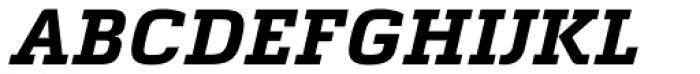 Quitador Bold Italic Font UPPERCASE