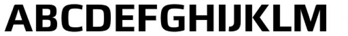 Quitador Sans Bold Font UPPERCASE