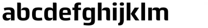 Quitador Sans Bold Font LOWERCASE