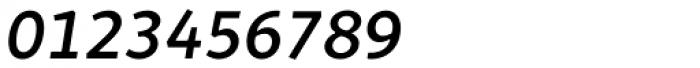 Quodlibet Sans Semi Bold Italic Font OTHER CHARS