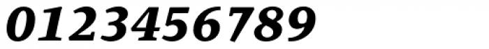Quodlibet Serif Extra Bold Italic Font OTHER CHARS