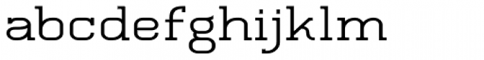 Quoral Bold Expand Font LOWERCASE
