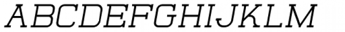 Quoral Bold Oblique Font UPPERCASE