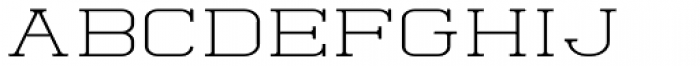 Quoral Expanded Font UPPERCASE