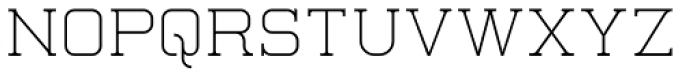 Quoral Font UPPERCASE