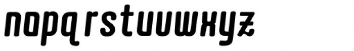 Quota Black Italic Cond. Font LOWERCASE