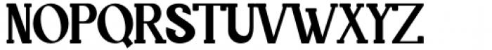 Quride Regular Font UPPERCASE