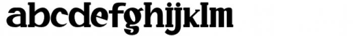 Quride Regular Font LOWERCASE