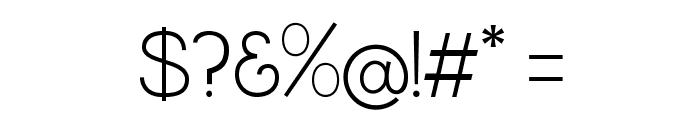 QuaverSans Font OTHER CHARS