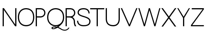 QuaverSans Font UPPERCASE