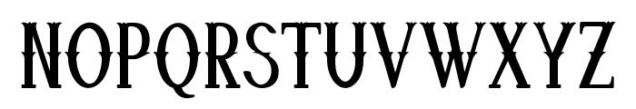 Quickdraw-CondensedRegular Font UPPERCASE