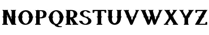 QuickdrawBold Font UPPERCASE