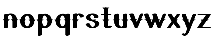 QuickdrawBold Font LOWERCASE