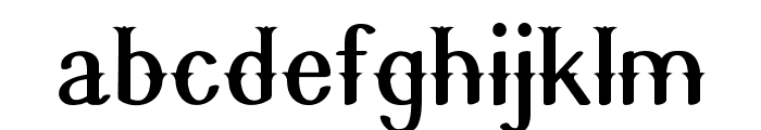 Quickdraw Font LOWERCASE