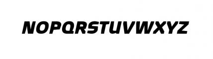 Quagmire Complete Bold Italic Font UPPERCASE