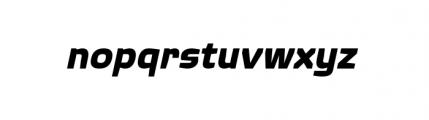 Quagmire Complete Bold Italic Font LOWERCASE